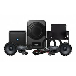 Alpine Add-On Sound System For Jeep Wrangler 2015-Up (Pair)