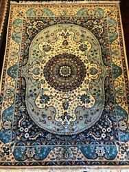 Authentic Hand Knotted 100 Wool Afghan Area Rug 5 X 7 Ftandnbsp