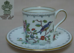 Aynsley Pembroke Coffee Can And Saucer