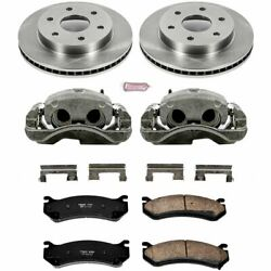 Powerstop Brake Disc and Caliper Kits 2-Wheel Set Front for KCOE2009