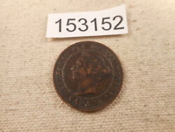 1888 Canada Large Cent Very Nice Collector Grade Raw Album Coin - 153152