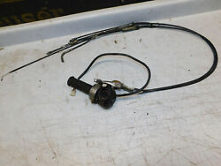 Suzuki Re5 Rotary Throttle Switch Cables Assembly Kill Switch Housing 1975 1975