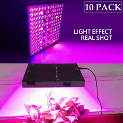 10X 45W LED Hydroponic Plant Grow Light Bulb Lamp Lighting Panel Board Growth Ve