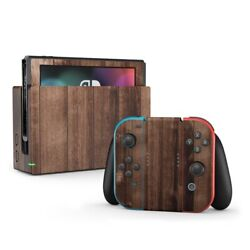 Nintendo Switch Skin - Stained Wood By Reclaimed Woods - Decal Sticker Decalgirl
