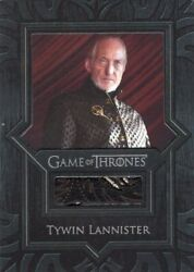 Game Of Thrones Valyrian Steel - Relic Card Vr5 Piece Of Tywin Lannister Jacket