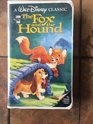 The Fox And The Hound Vhs 1994