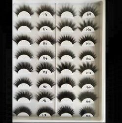 Wholesale Bulk 3D Mink False Eyelashes Fake Lashes 50 Pairs Mixed