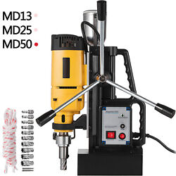 Vevor Electric Magnetic Drill Press Md13/md25/md50 Mining Stable Welding