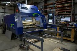 MultiCam CNC Quantus Fiber Laser Cutting Table - 6000W Fiber Laser - 5' x 10'
