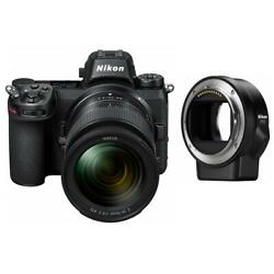 Nikon Z7 Fx-format Mirrorless Camera With Z 24-70mm Lens Mount Adapter 1594ad