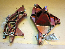 1950and039s Johnson Fd-10 15hp Outboard Motor Used Cowl Brackets Ships W/tracking