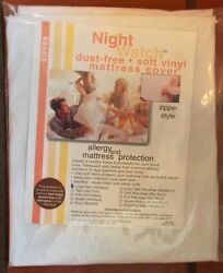 Priced Right Soft Vinyl Mattress Cover Plastic Protector-comes In All Sizes Xx