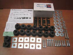 55 56 57 Chevy Body Frame Mount Bushing Kit And Bolt 1955 1957 Hardtop Sport Coupe