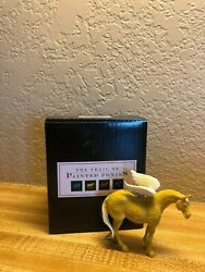 Trail Of Painted Ponies Ornament Golden Girl Black Box- Very Rare