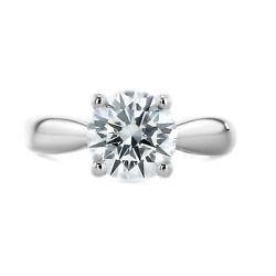 0.5 Carat Round Cut G - Si2 Solitaire Diamond Gia Engagement Ring Custom Size
