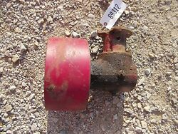 Farmall Cub Rowcrop Tractor Original Ih Ihc Steel Belt Pulley And Drive Assembly