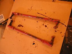 Farmall Cub 184 185 Tractor Ih Steering Tie Rods Rod And Finger Mount Pivot Joints