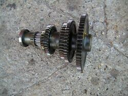 Farmall 504 Rowcrop Tractor Ih Main Lower Transmission Drive Gears And Bearing