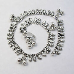 925 Sterling Silver Collectible Handcrafted 10 New Anklet 1 Pc. Womenand039s Jewelry