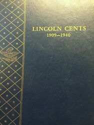 Nice 49 Coin Lhc 1909-1940 Lincoln Cent Album Lots Of Good Datesandnbsp Lot 83