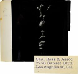 ORIGINAL PHOTOGRAPHIC TITLE CARD FROM SPARTACUS DESIGNED BY SAUL BASS #131763