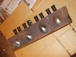 Farmall Ih 504 Utility Tractor Main Gas Engine Motor Cylinder Head And Valves