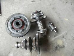 Farmall 504 Rowcrop Tractor Ihc Matched Set Transmission Gears / Shafts And Pinion