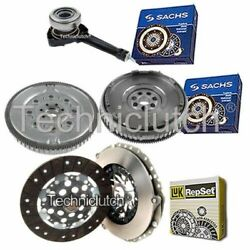 Luk Clutch Kit And Sachs Dmf With Sachs Csc For Renault Laguna Hatchback 1.9 Dci