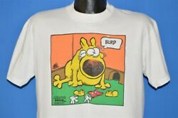 Vtg 90s Mother Goose And Grimm Dog Cartoon Mickey Mouse Funny T-shirt Large L