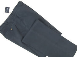 New 149 Brooks Brothers Chinos Pants 33 X 37 E 50 Italy Weathered Blue