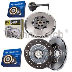 Sachs 2 Part Clutch And Luk Dmf And Sachs Csc For Audi Tt Coupe 1.8 T Quattro