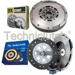 Sachs 3 Part Clutch Kit And Luk Dmf For Bmw 5 Series Estate 528i