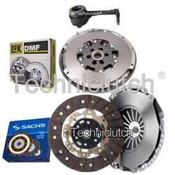 Sachs 2 Part Clutch Kit And Luk Dmf And Csc For Audi A3 Hatchback S3 Quattro