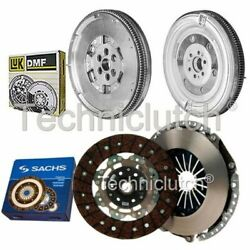 Sachs 2 Part Clutch Kit And Luk Dmf For Audi A3 Hatchback 2.0 Tfsi Quattro