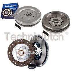 Nationwide 3 Part Clutch Kit And Sachs Dmf For Audi A3 Hatchback 1.9 Tdi