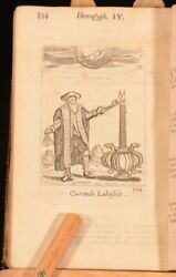 1684 Emblemes By Fra Quarles Illustrated Engravings Grotesque Emblems Francis