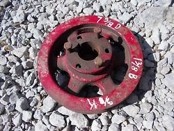 John Deere Ford Jd Ih Farmall Ac Oliver Tractor Pto Double Drive Pulley Fr Mower