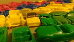 153 Vintage Processed Plastic Cars Mpc Usa Great Britain Italy Various Colors