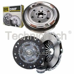 Nationwide 3 Part Clutch Kit And Luk Dmf For Audi A4 Saloon 1.8 T Quattro