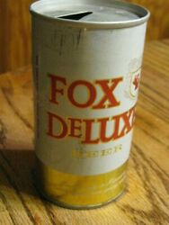 Vintage Used Fox Deluxe Beer Cold Spring Minn Empty Beer Can 12 Oz