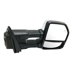 Tow Mirror For 2015 2018 Ford F150 Passenger Side Power Fold Heated Signal Light
