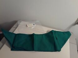 Longaberger Medium Bin Tapered Paper Tray Basket Ivy Green Fabric Oe Liner Only