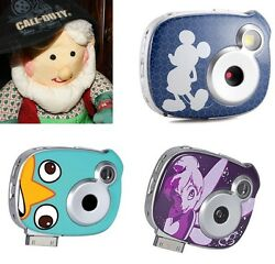 Disney Mickey Mouse 7mp I Pad Zoom Camera 1.5 Lcd Tinkerbell Phineas Bran