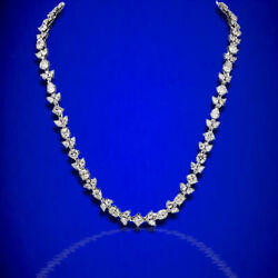 Diamond Necklace! 53.61 ct Multi Shape Long Diamond Necklace