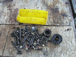 Allis Chalmers Ac C Tractor Precleaner And Oil Fill Topper Radiator Cap And Bolts And
