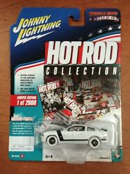 Johnny Lightning Hot Rod Collection 2005 Ford Mustang Gt White Lightning Chase