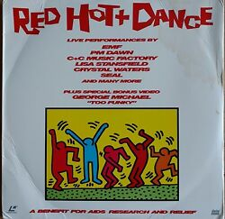 Red Hot And Dance George Michael Rare Too Funky Video Laserdisc Seal Marky Mark Ld