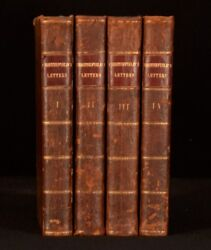 1774 4 Vols Letters By Dormer Stanfield Earl Of Chesterfield Second Edition