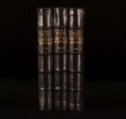 1837 3vol The Letters and Works of Lady Mary Wortley Montagu Wharncliffe 2nd Ed