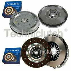 Sachs 2 Part Clutch Kit And Sachs Dmf For Audi A3 Hatchback 2.0 Tdi Quattro